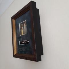 3D Framing to display rings and photograph as a keepsake