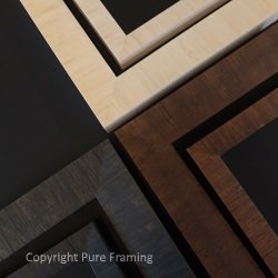 Bamboo picture frame moulding