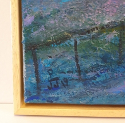 Barewood Canvas Tray Frame for Oil on Canvas