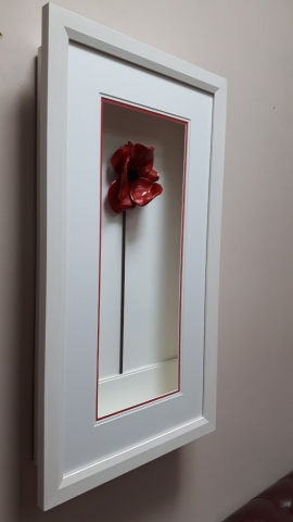 Box Frame for Tower of London Ceramic Poppy