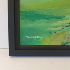 Canvas Framing Corner Detail Denise Di Battista original