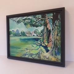 Canvas framing Park Howard - Denise Di Battista
