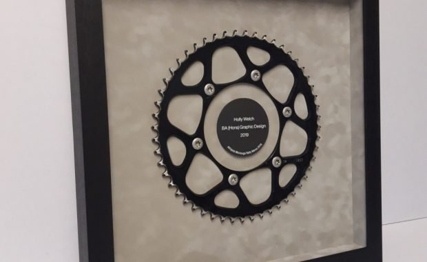 Framed Motorcycle Sprocket