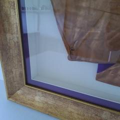 Conservation Framing for Jockey Silks