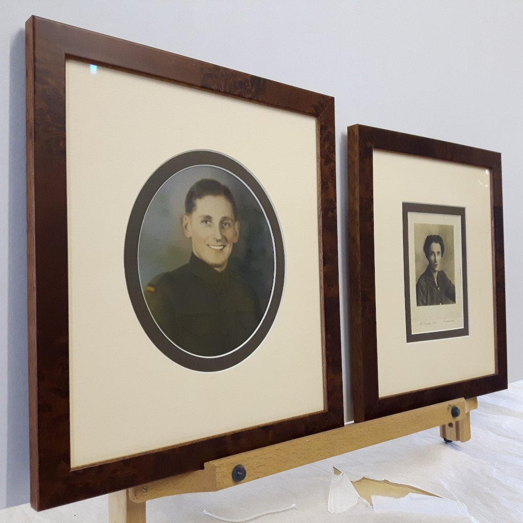 Conservation Framing for old and delicate photographs