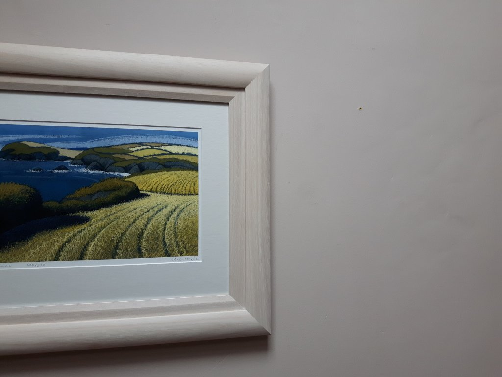 Double frame lime waxed for added depth for this Chris Neale limited edition print