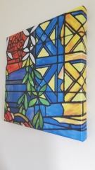 Gaudi Stained Glass Museum wrap