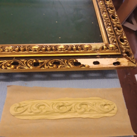Gilt Frame Repair Casting