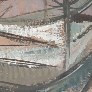 Colour Palette Detail Of Robert Hunter Painting