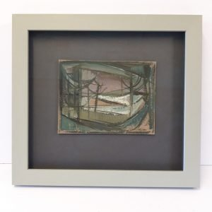 Hand Finished Case Study Robert Hunter Painting Framed