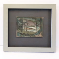 Hand Finished Frame - Robert Hunter Painting