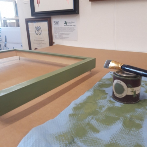 Hand Finished Picture Frames Farrow and Ball Paint