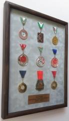 3D Framed Medals