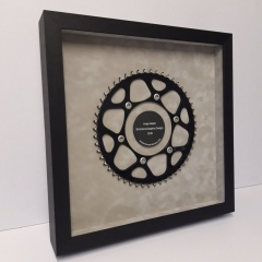 Motorcycle Sprocket in its frame