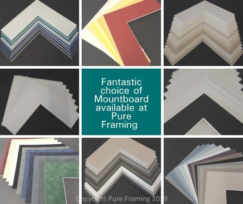 Mountboard available at Pure Framing
