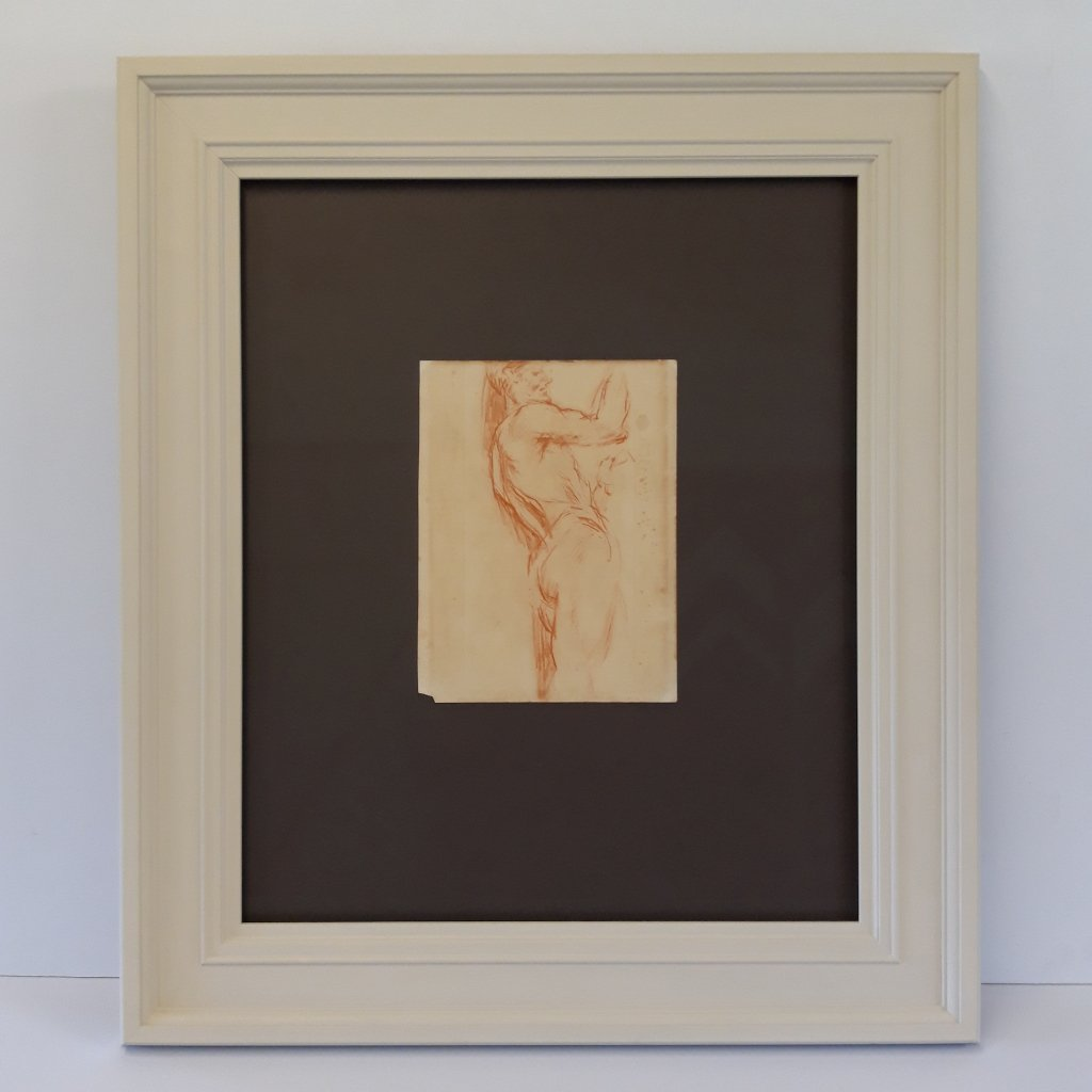 Museum Level Framing for original Gwen John Drawing