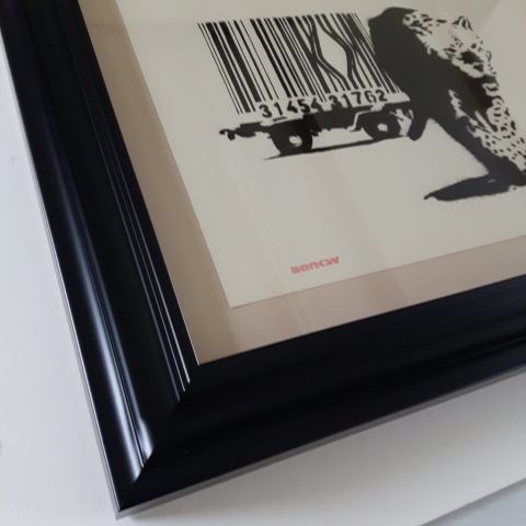 Museum Level Framing for this Valuable Banksy Limited Edition Print