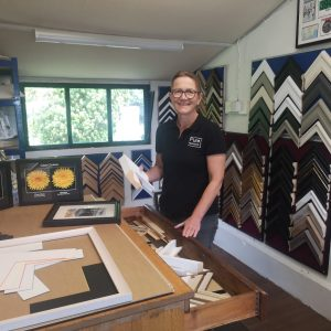 Jo Ronald of Pure Framing