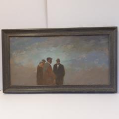 Re-framing Aneurin Jones in original frame