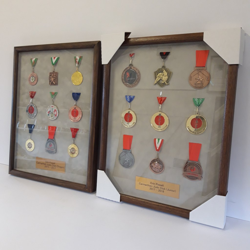 Sports medal framing