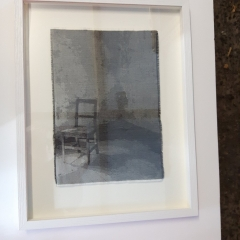 Textile Art framing for piece by local artist Ainsley Hillard