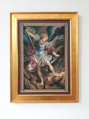 Textile tapestry framing